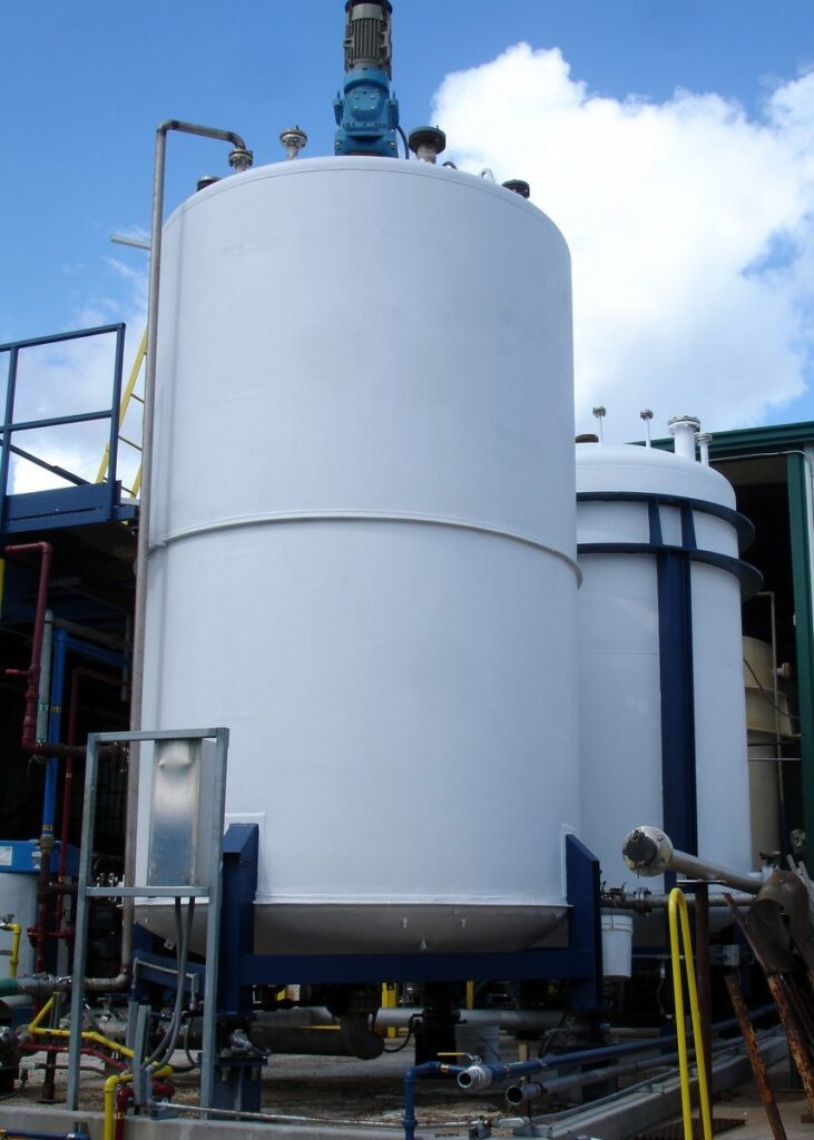 chemical toll manufacturing services - custom blending facility